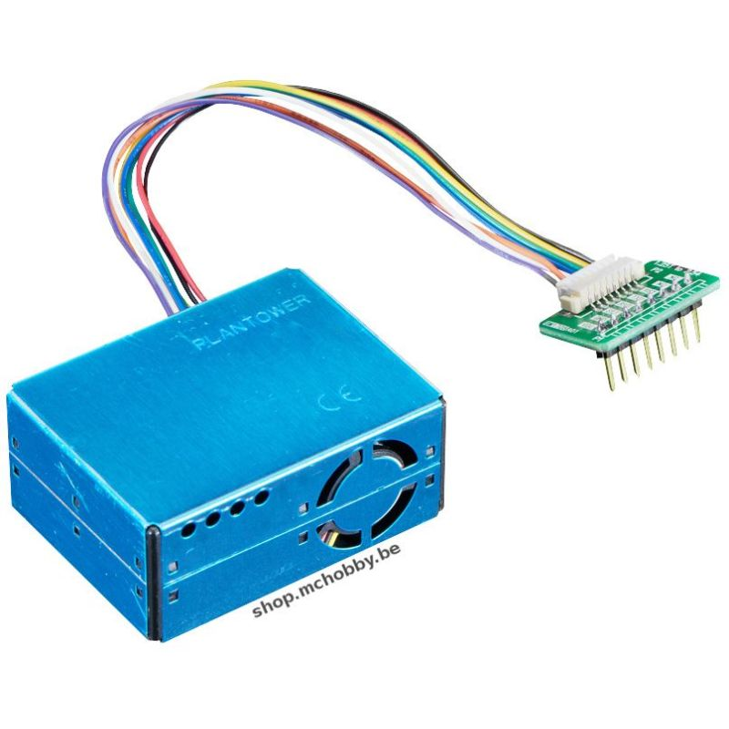 Air quality sensor PM2.5 (PM5003) and breadboard adapter