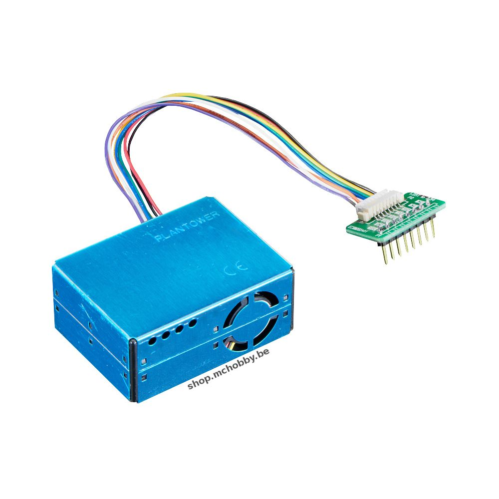 ▷ Air quality sensor PM2 5 (PM5003) and breadboard adapter