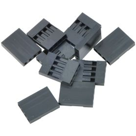 10x Boîtier (Housing) 1x4 connecteur à sertir - 2.54mm