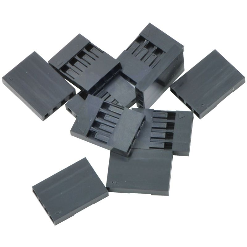 25x Housing for 1x4 grimp connector - 2.54mm