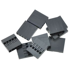 10x Boîtier (Housing) 1x5 connecteur à sertir - 2.54mm