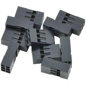 10x Boîtier (Housing) 2x3 connecteur à sertir - 2.54mm