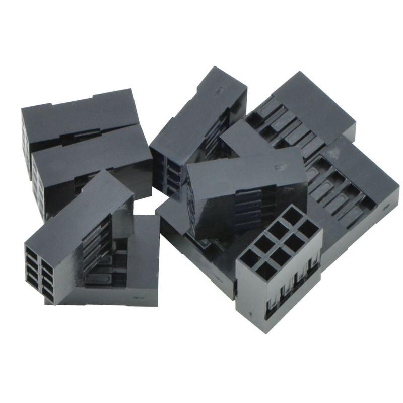 10x Boîtier (Housing) 2x4 connecteur à sertir - 2.54mm