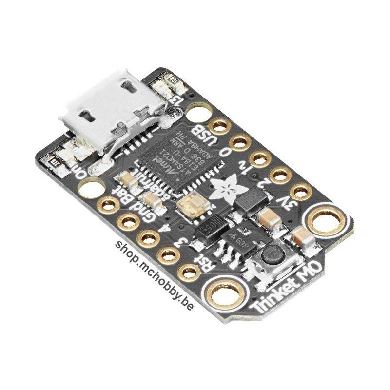 Trinket M0 3.3V - Mini MicroControleur - Arduino IDE and CircuitPython