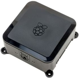 Raspberry-Pi Case - Black - Vesa and Hard-Drive