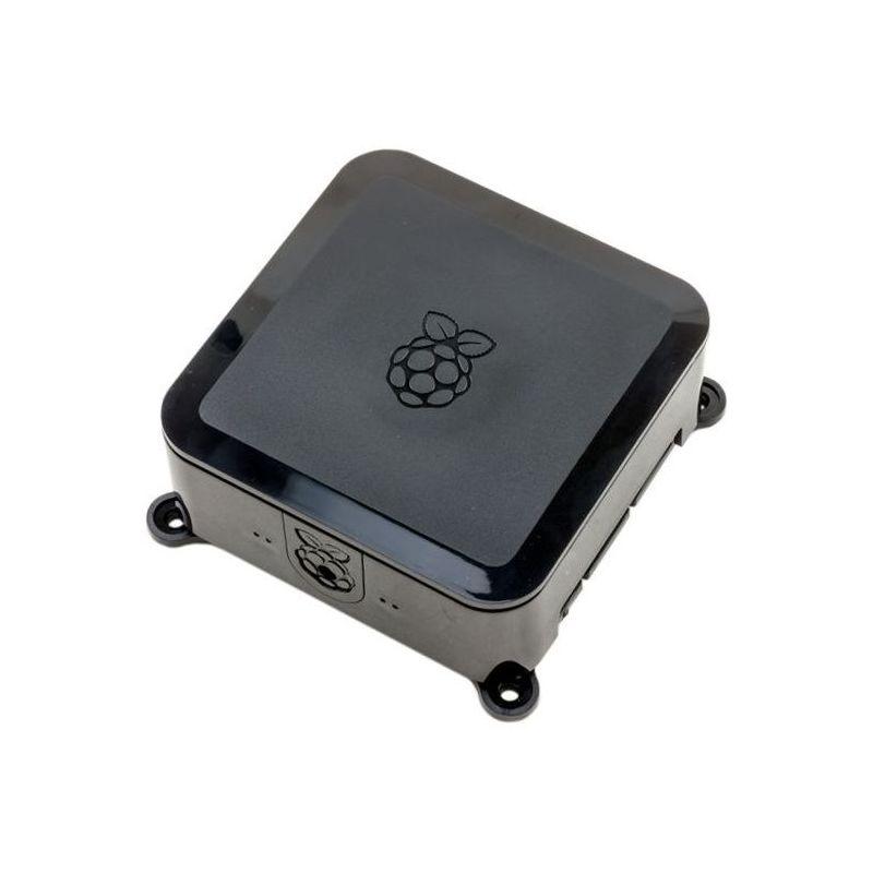 Raspberry-Pi Case - Black - Vesa and Hard-Drive