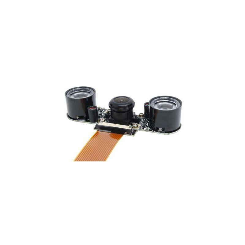 FishEye NightVision Cam for Pi Zero / Pi Zero W / Raspberry-Pi
