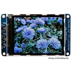 "TFT couleur 2.2"" - microSD - SPI -breakout"
