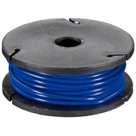 Solid-core BLUE wire spool - 7.50m