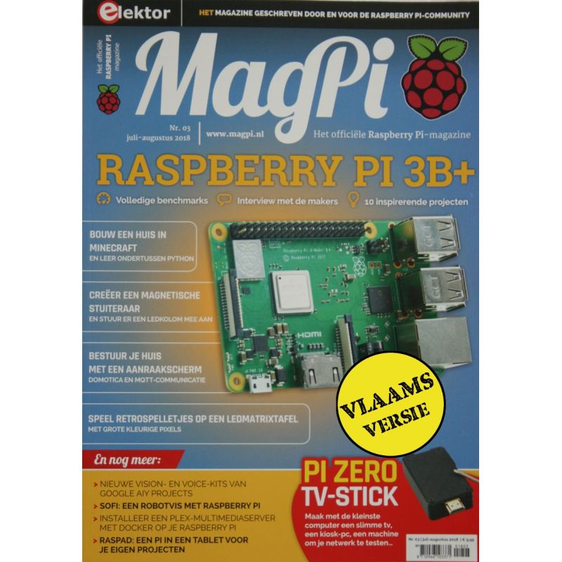 Le MagPi Vlaams Version n° 3