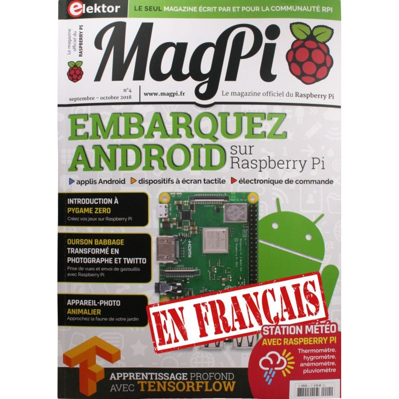 Le MagPi French Version n° 4