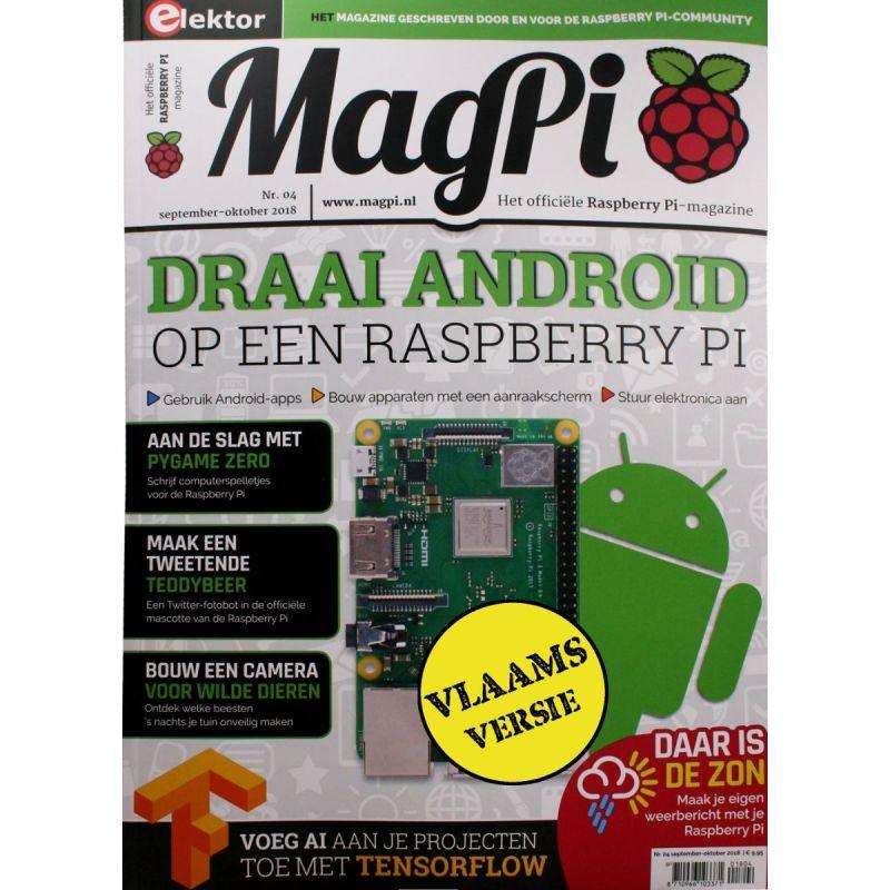 Le MagPi Vlaams Version n° 4