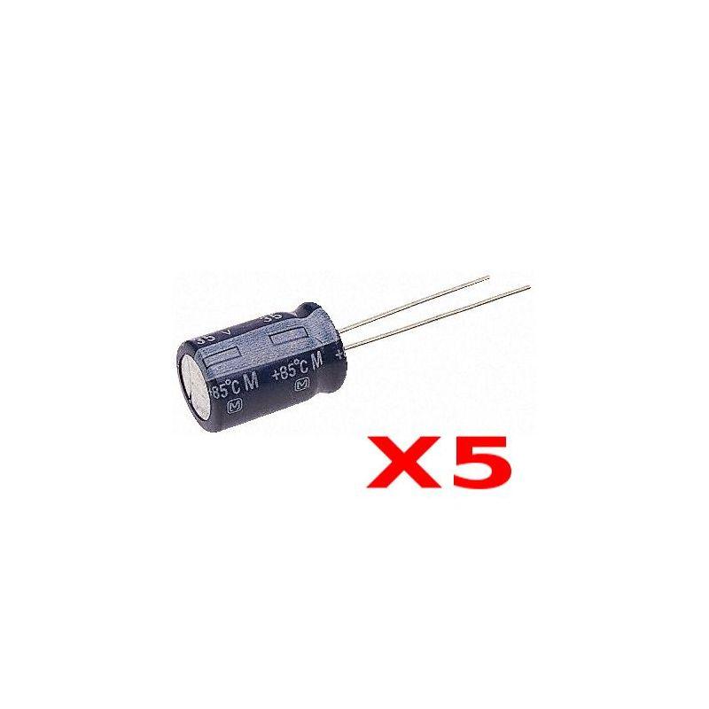 5 x Capacités 220uF