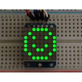 [T] - Mini Matrice 8x8 VERTE - I2C - 20mm