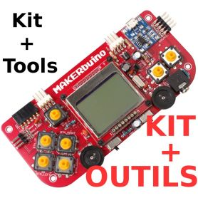 MAKERbuino kit - tools included