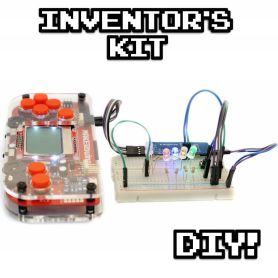 MAKERbuino - console + kit inventeur
