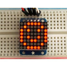 Mini Matrice 8x8 ROUGE - I2C - 20mm