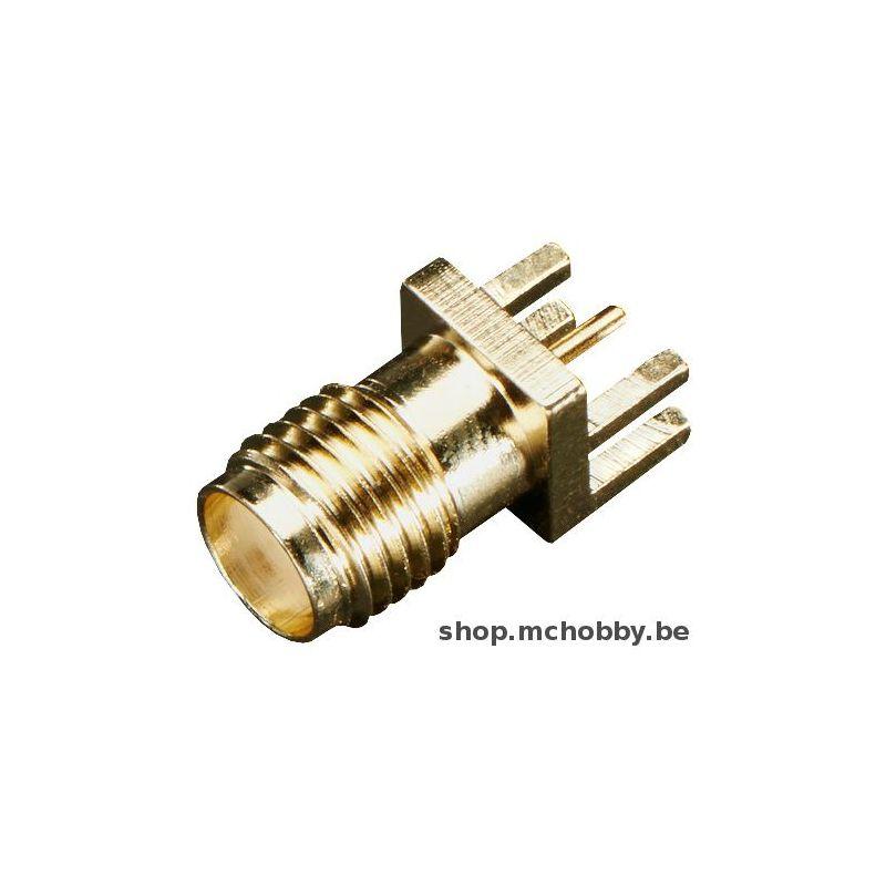 Connecteur SMA pour carte (pcb 1.62mm)