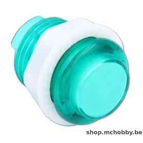 Arcade Button - Green LED - Translucent 24mm