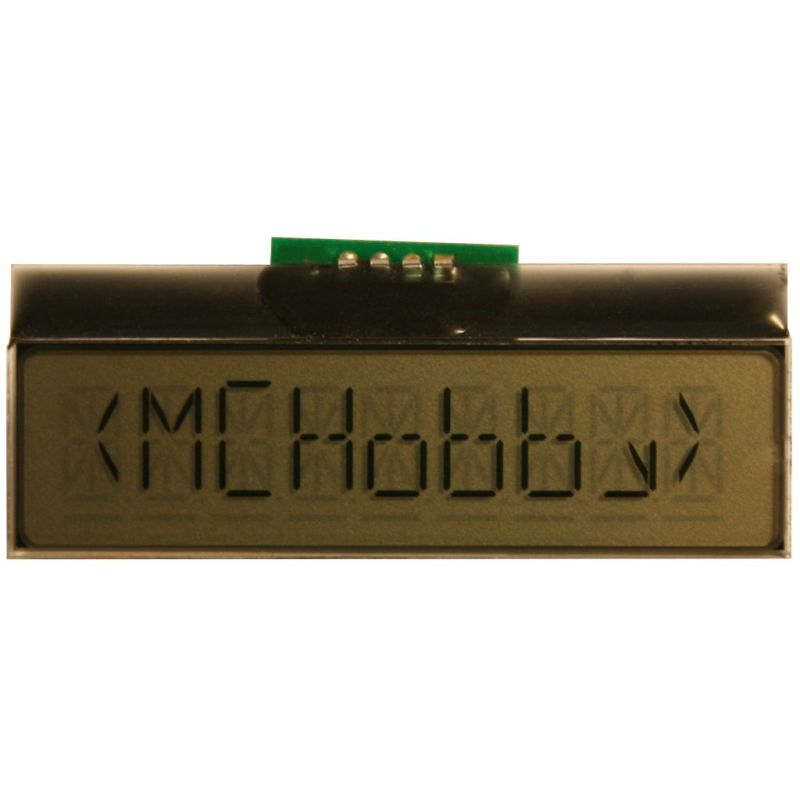 UEXT LCD display - 1 line of 9 alphanumeric chars