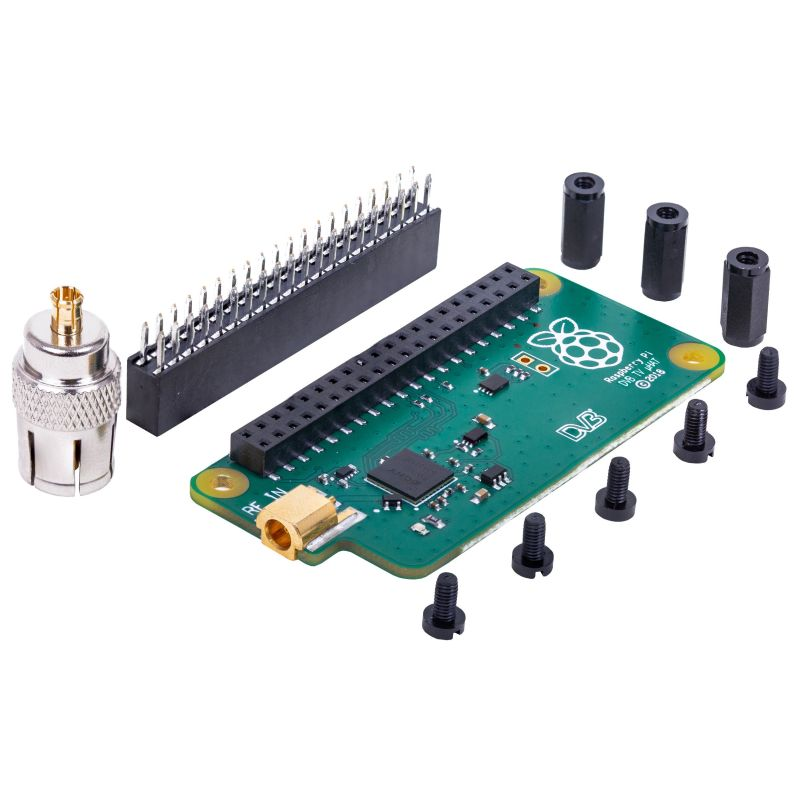 TV HAT for Raspberry-Pi - DVB-T & DVB-T2