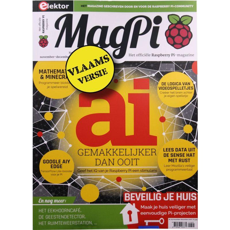 Het MagPi vlaams n° 5