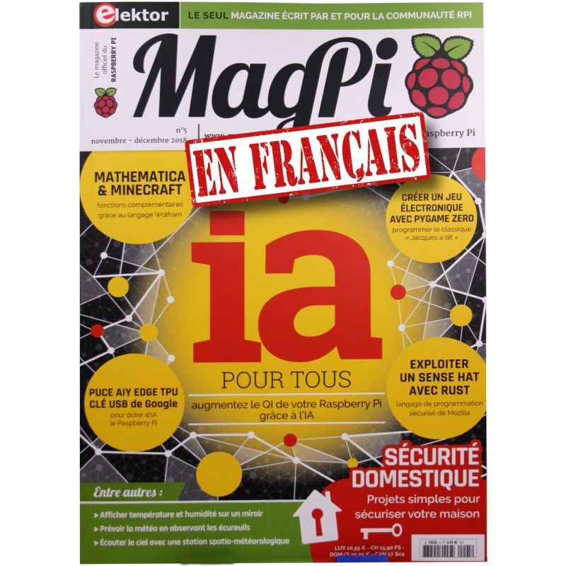 Le MagPi French Version n° 5