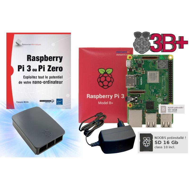 Raspberry Pi 3  - kit découverte
