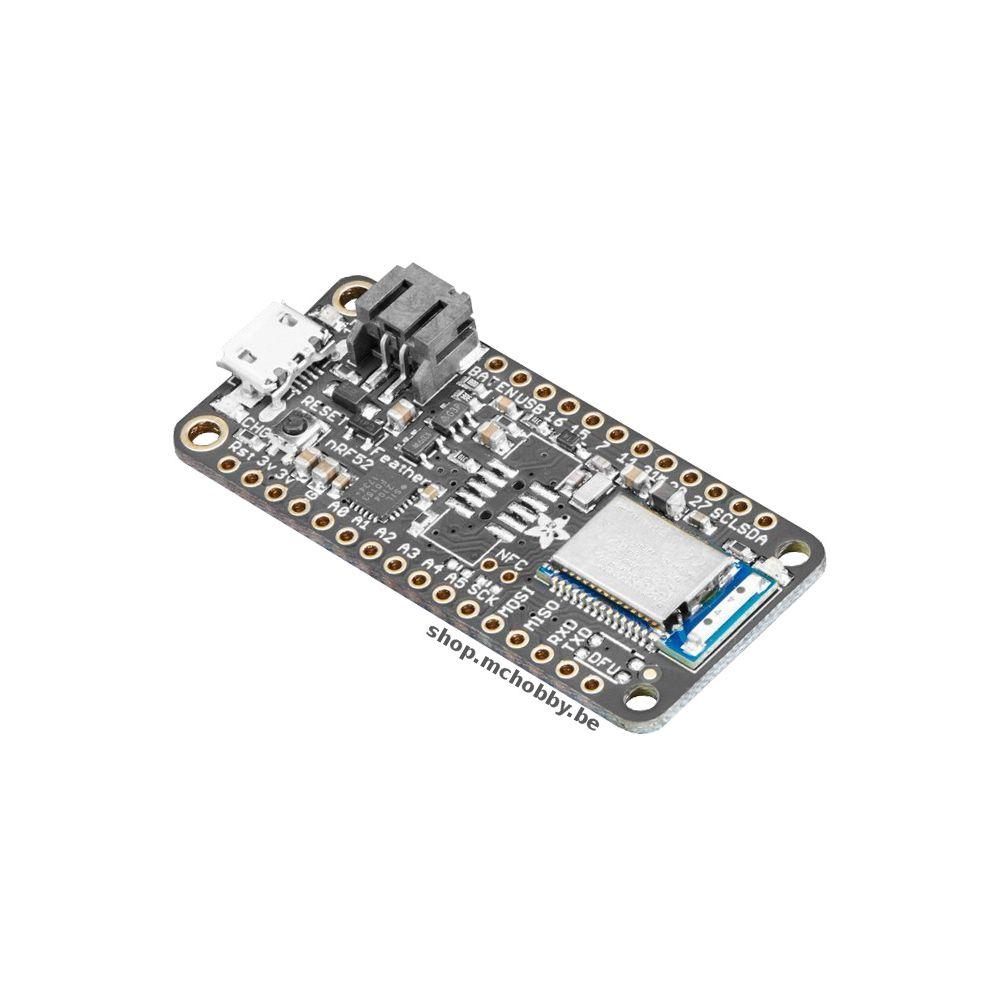 Feather nRF52 Bluefruit LE - nRF52832 - MCHobby - Vente de Raspberry Pi,  Arduino, ODROID, Adafruit