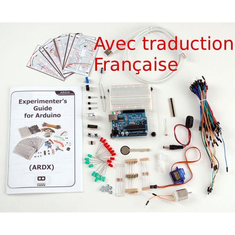 Kit d'expérimentation Arduino FRANCAIS (Uno R3) - Adafruit ARDX - v1.3