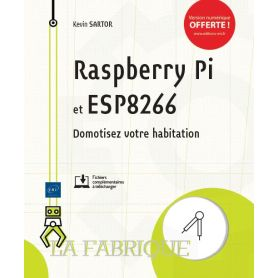 French book! Rapberry Pi & ESP8266 - make your house smarter