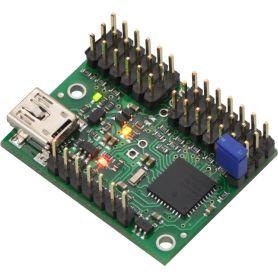 MAESTRO Mini - Controleur servo USB à 12 canaux