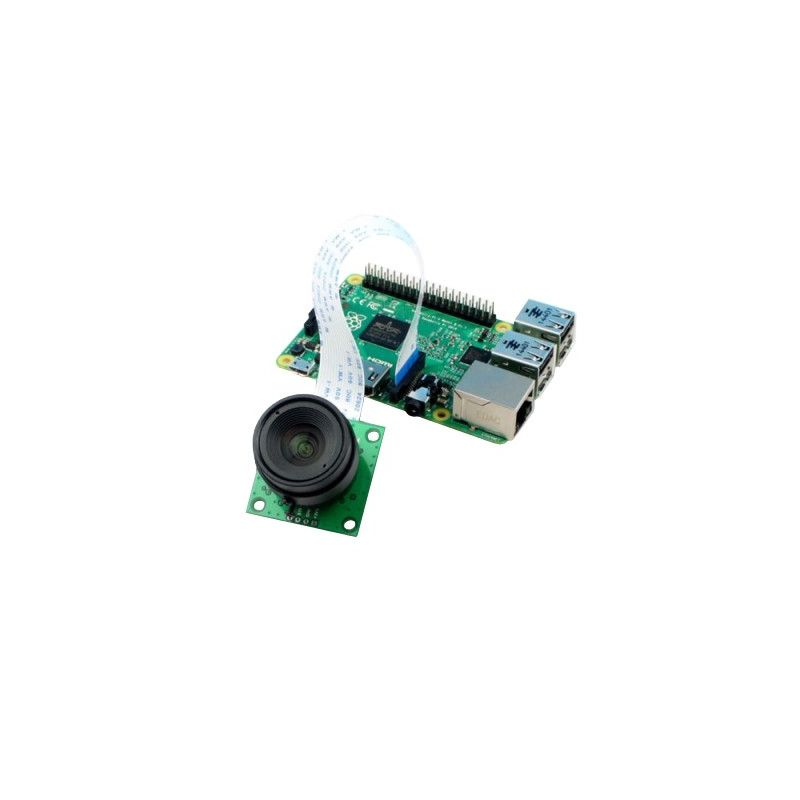▷ 5MP NOIR Pi Camera - removable/interchangeable lens - MCHobby
