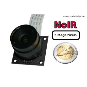 Camera Pi NOIR CS Mount - 5MP - objectif interchangeable