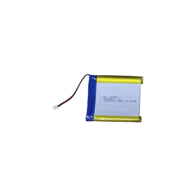 Lipo battery - 3.7v 3000mAh -  micro JST-PH