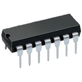 SN74HC14N - Schmitt Trigger , inverter, 6x 1 input