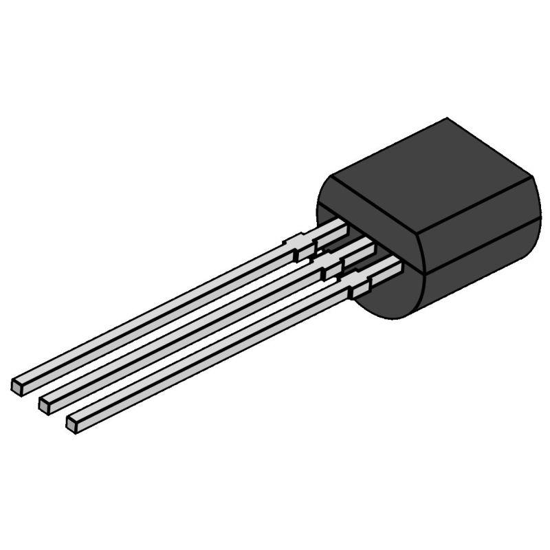 2x 2N7000 - N-Channel MOSFETtransistor - 200mA 60 Vdc