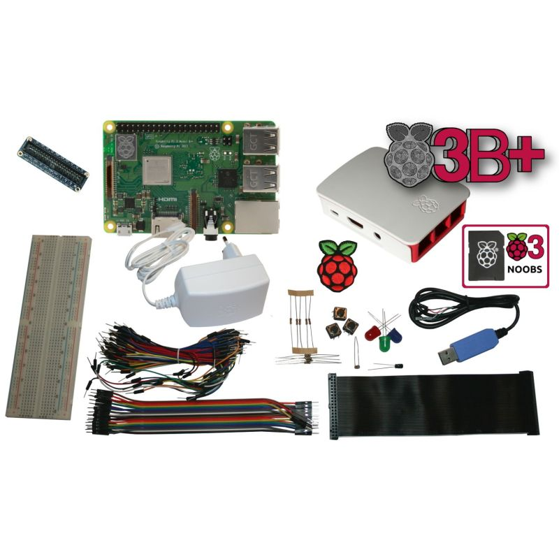 Raspberry Pi 3 - Hack Starter Pack (Raspberry inclus!!!)