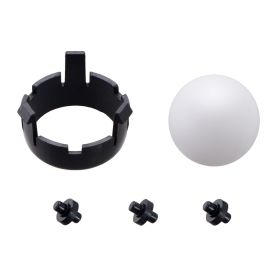 Romi Chassis Ball Caster Kit - Black