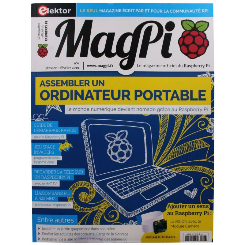 Le MagPi French Version n° 6