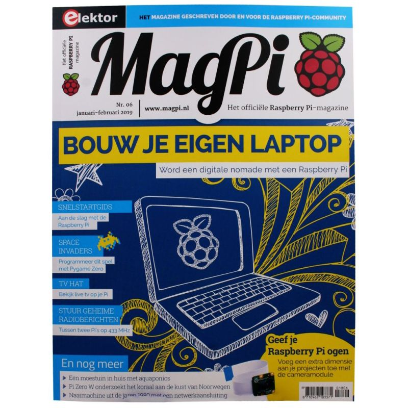 The MagPi Vlaams Version n° 6