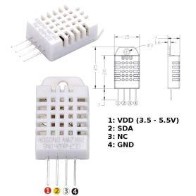 DHT22 + Extra : capteur humidité - température