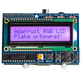 Raspberry LCD RGB - POSITIF display + Keypad