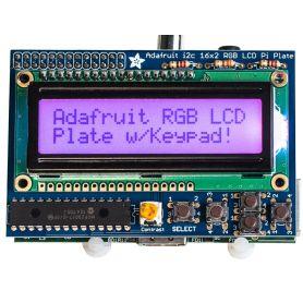 Raspberry LCD RGB - AFFICHAGE POSITIF + Keypad