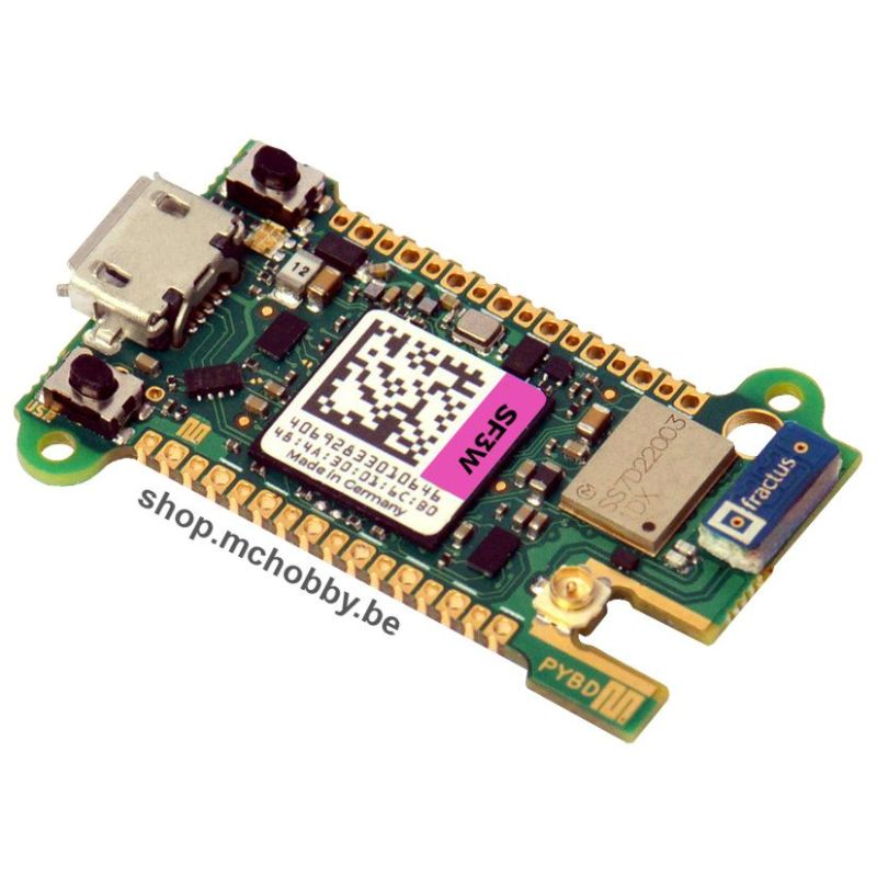 Pyboard-D SF3W - STM32F723IEK , WiFi / Bluetooth et USB HS