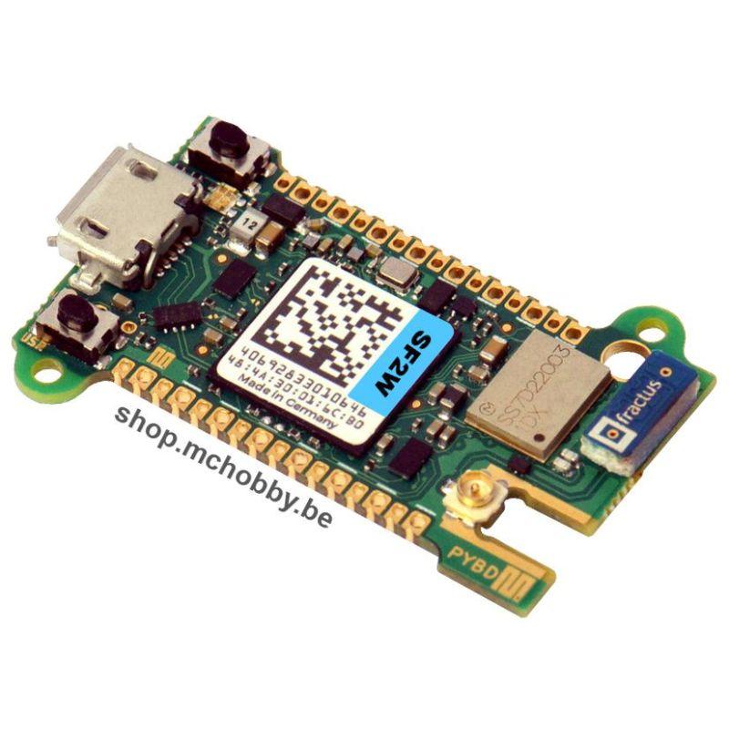 Pyboard-D SF2W - STM32F722IEK , WiFi et Bluetooth