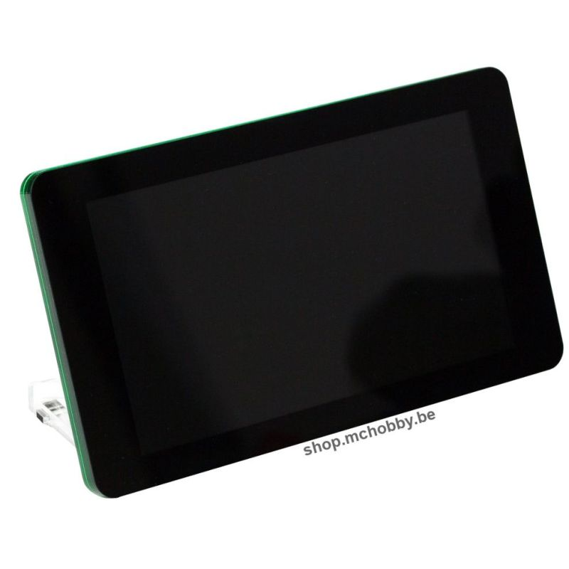Touchscreen frame for official RPi touchscreen - Pibow