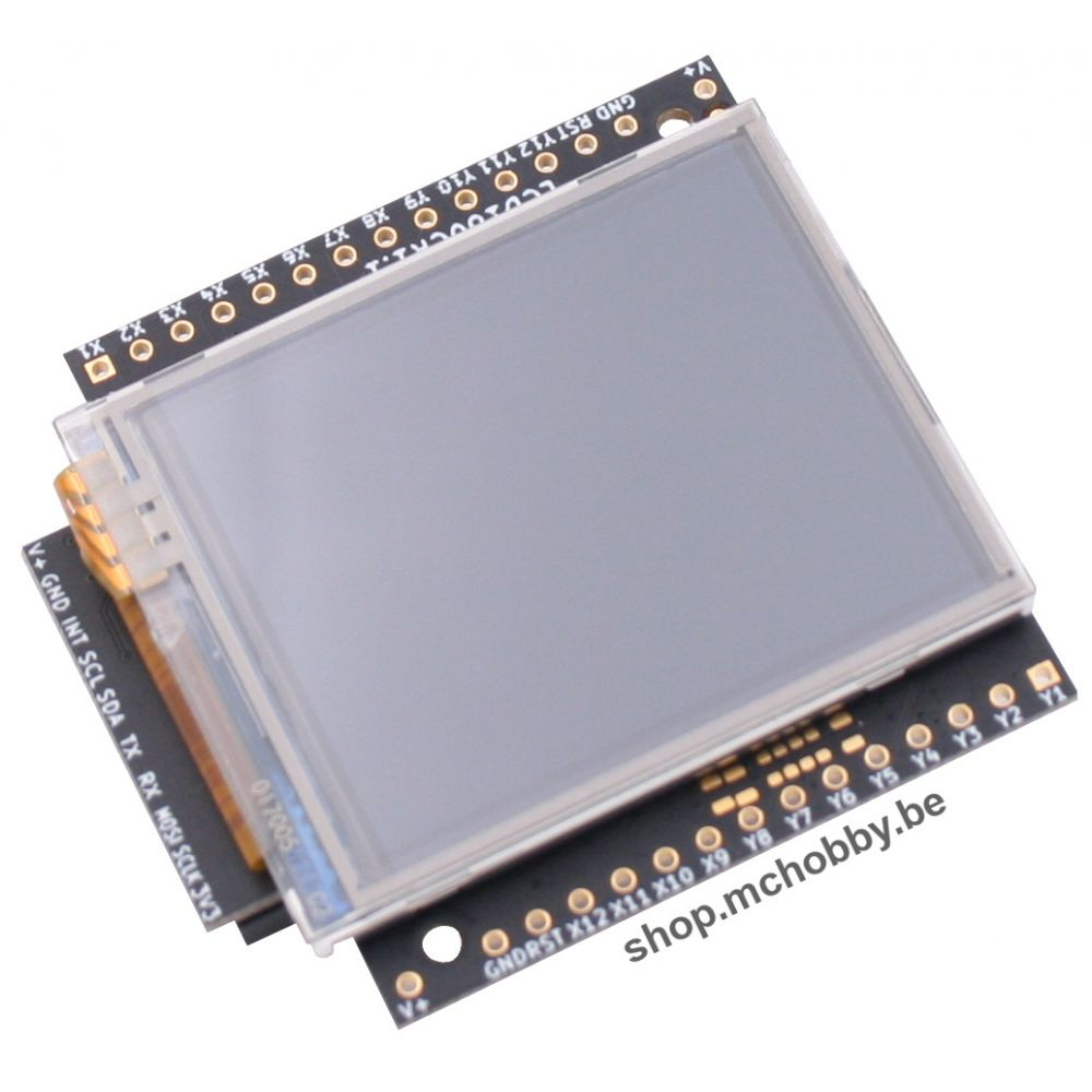▷ Touch LCD screen for MicroPython PyBoard (V1 1) - MCHobby - Vente