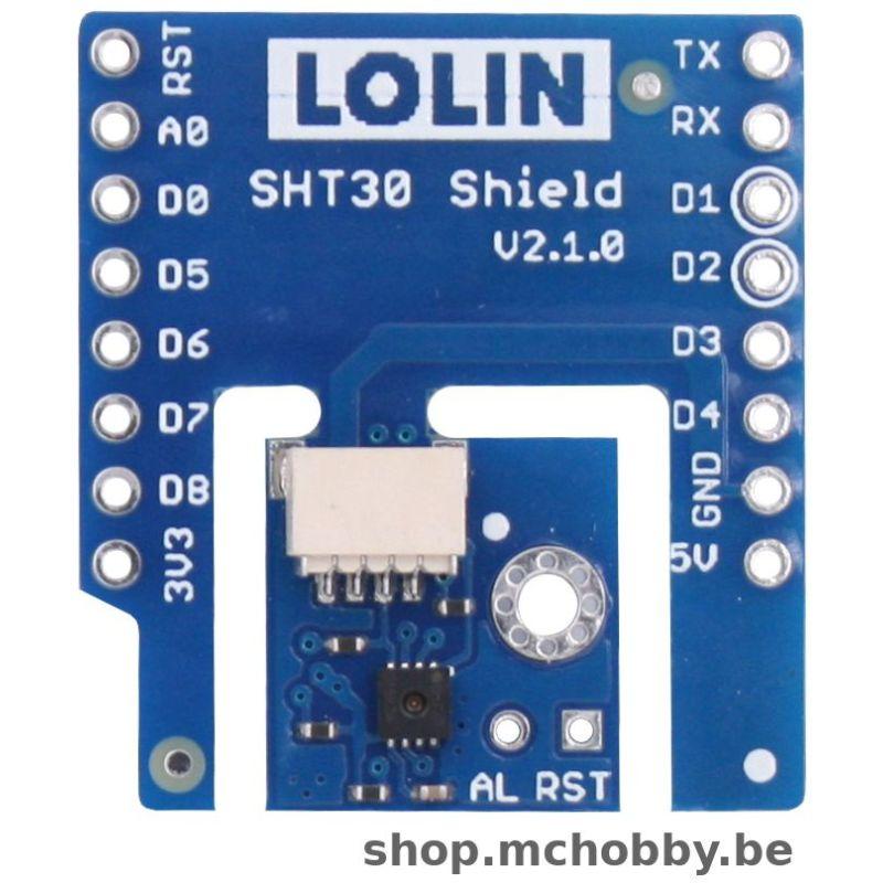 SHT30 shield for Wemos D1