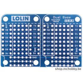 Double base pour LOLIN Wemos D1